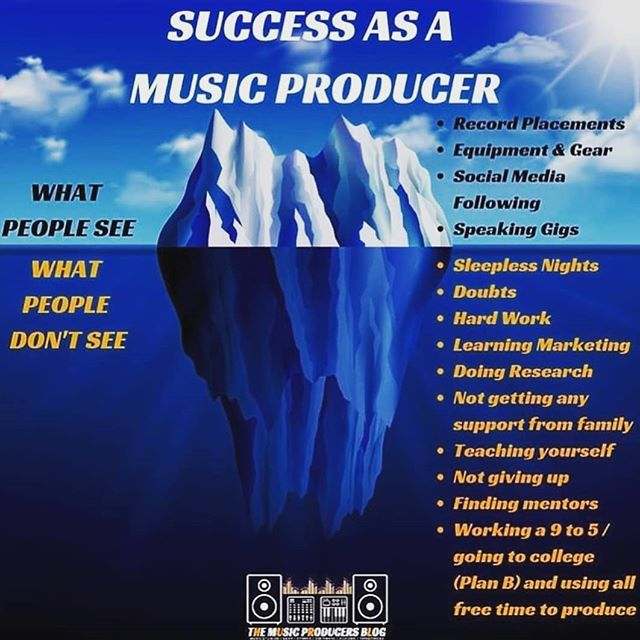 I had to repost this from @cardeo.music originally by @themusicproducersblog because this is soooooo true! 😩  People think producing a song is easy! You just walk into a studio one time, record a few vocals and you come out with this amazing track!  We have to keep working on our craft behind the scenes for real!  Well trust me that's not the case! 😂😅😂 It's a real job and it's hard work like any other job out here. It's hard work that I love doing but let's not downplay what a Music Producer does when you hear the finished product of a song! We make you sound good! 😂  #BigUpTheCreatives #HighsAndLows #HardWorkBeatsTalent #Working9to5 #WhatAWayToMakeALiving #BehindTheScenes #HardWorkMakesTheDreamWork #ShoutoutToTheBeatmakers #MusicProducers #Musicians #Artists #Singers #Songwriters #WomenInBusiness #WomenMakeMusic #NormalNotNovelty #NotYourAverageBeatMaker #EssieBMusic
