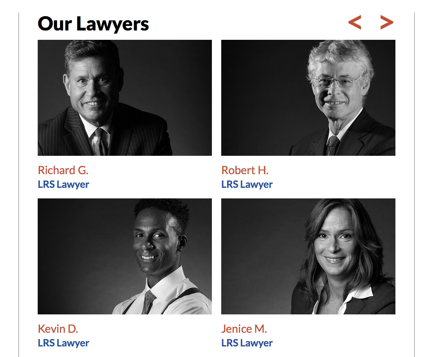 Lawyer portraits