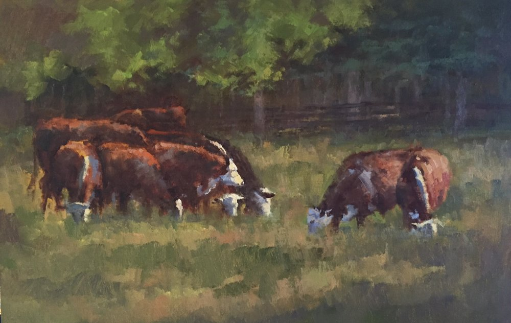 Herd by thE Trees