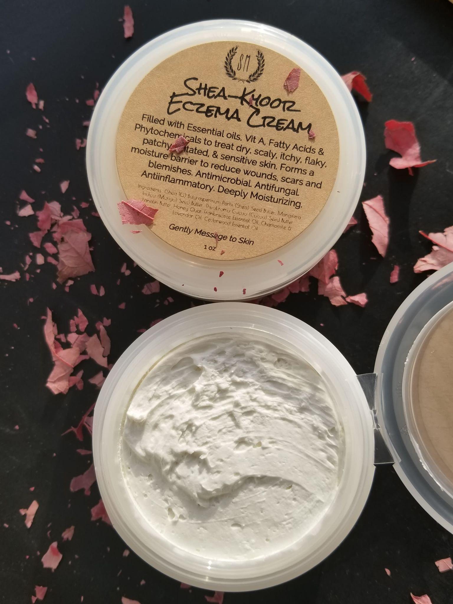 Lanolin cream for eczema