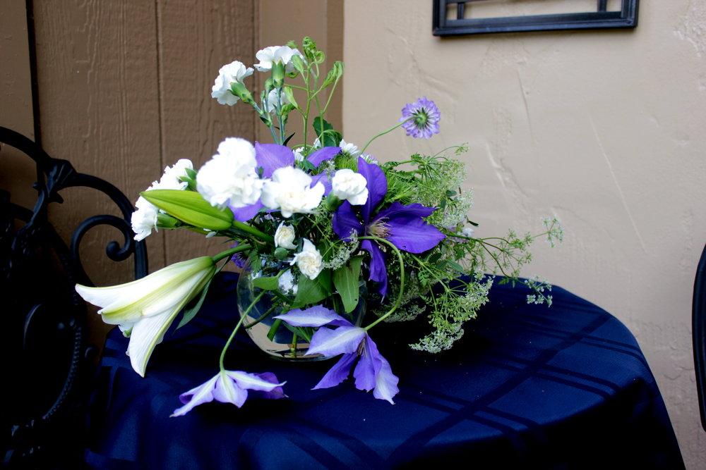 graduation party flowers prope terram floral design