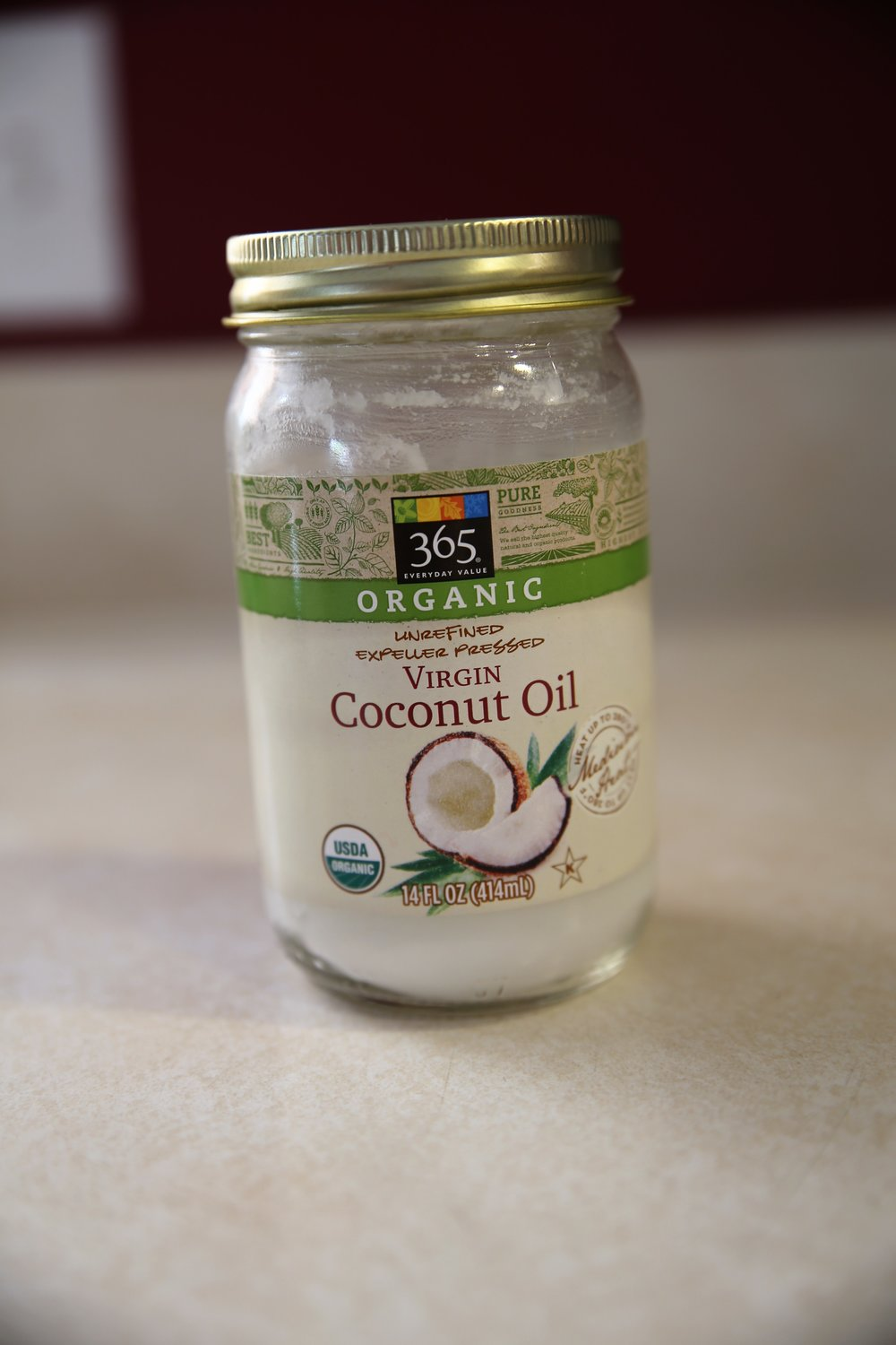 High-heat safe, nutrient dense, 1:1 - 3 amazing qualities found in coconut oil. If you're not a fan of the coconutty taste of coconut products, you may be surprised how that flavor is eliminated or minimized in baked goods!Best to look for organic unrefined virgin coconut oilWhere to Buy:Similar product on Amazon.comMost local grocery stores (Whole Foods, Trader Joe's, Costco, Fresh Thyme for sure)