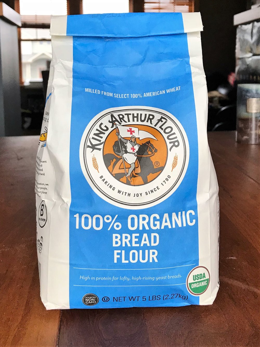 Ashley's favorite flour for sourdough - I'll often use this flour in place of all purpose flour however since this is