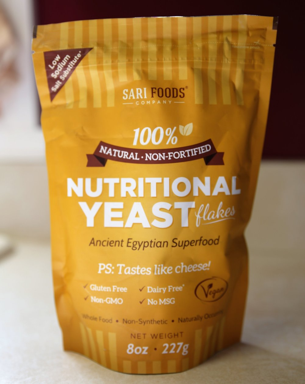 Nutritional Yeast - Love this brand in particular because it does not contain any