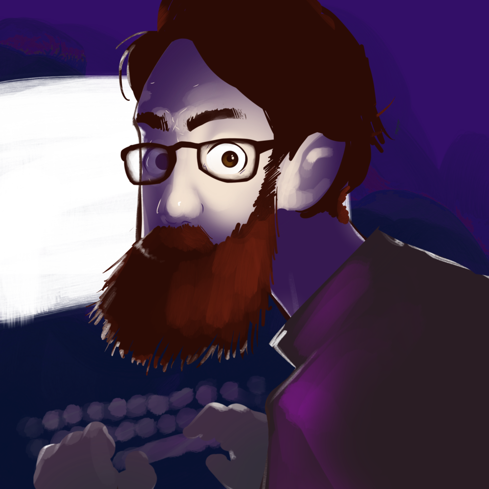 William Cook - Design robot. Audio engineer. Podcast host. Sometimes plays a video game. Rarely draws.