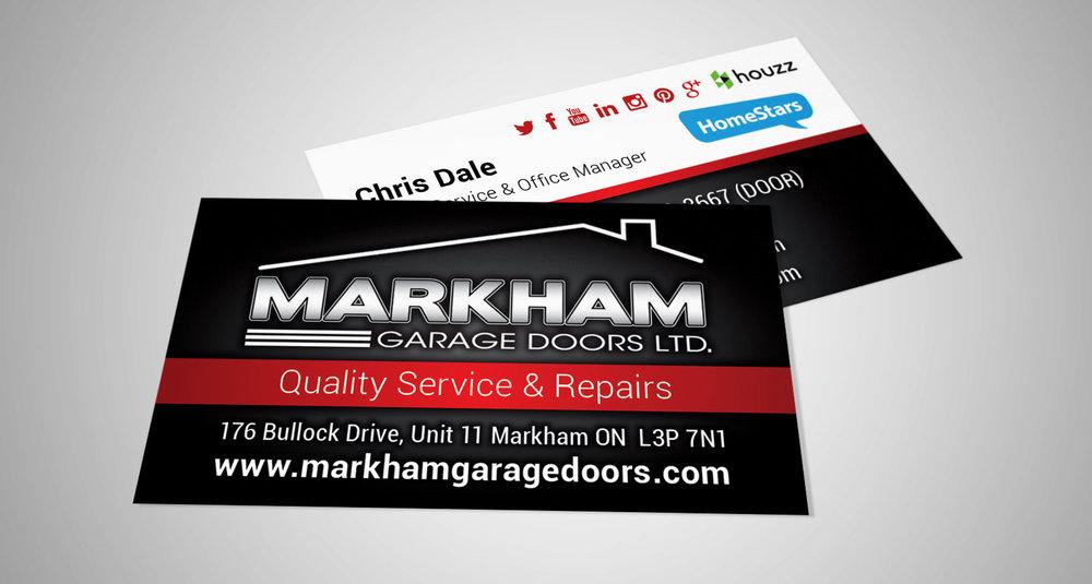 Markham Garage Doors — Devin Pickering | Designer & Web Developer