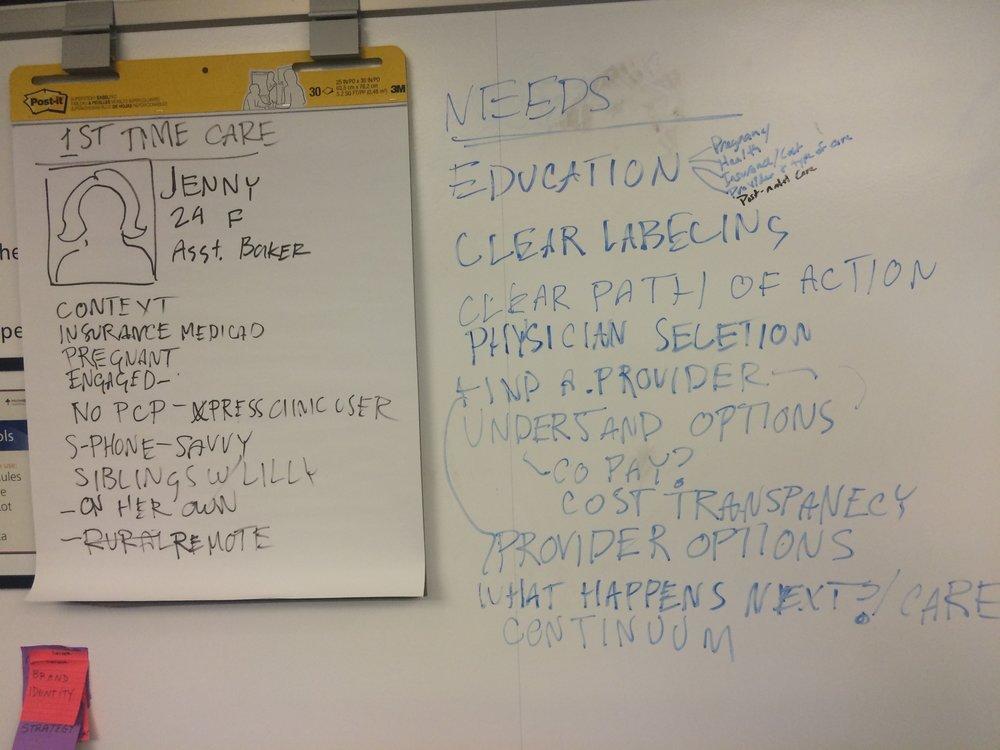 Whiteboard - User Profile