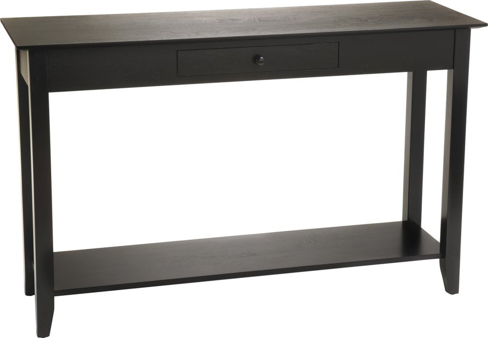 Greenspan Console Table $107.00 in Black from Wayfair