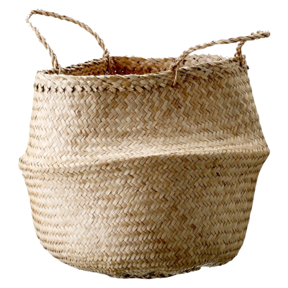 Slouchy Seagrass Basket in Natural $18.99 on sale now from  Target