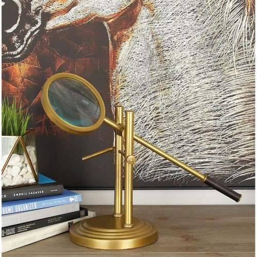 Brass Standing Magnifying Glass, DecMode from Jet.com $62.12