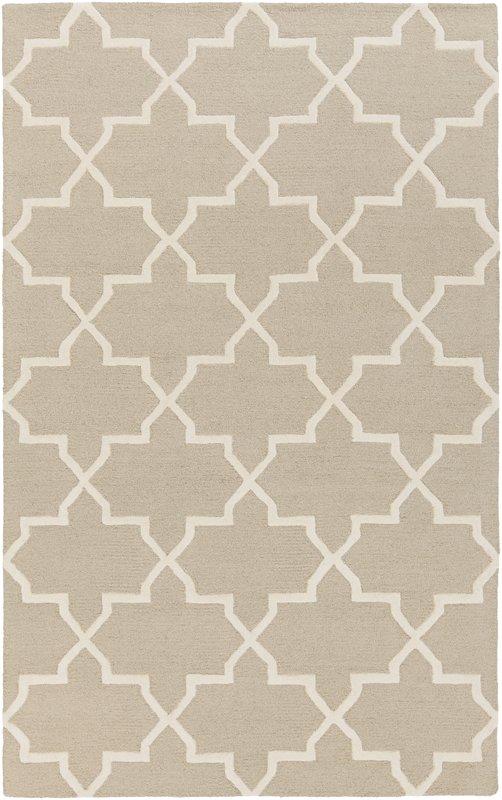 Blaisdell Beige Keely Geometric rug, 4x6, $64.99 Wayfair