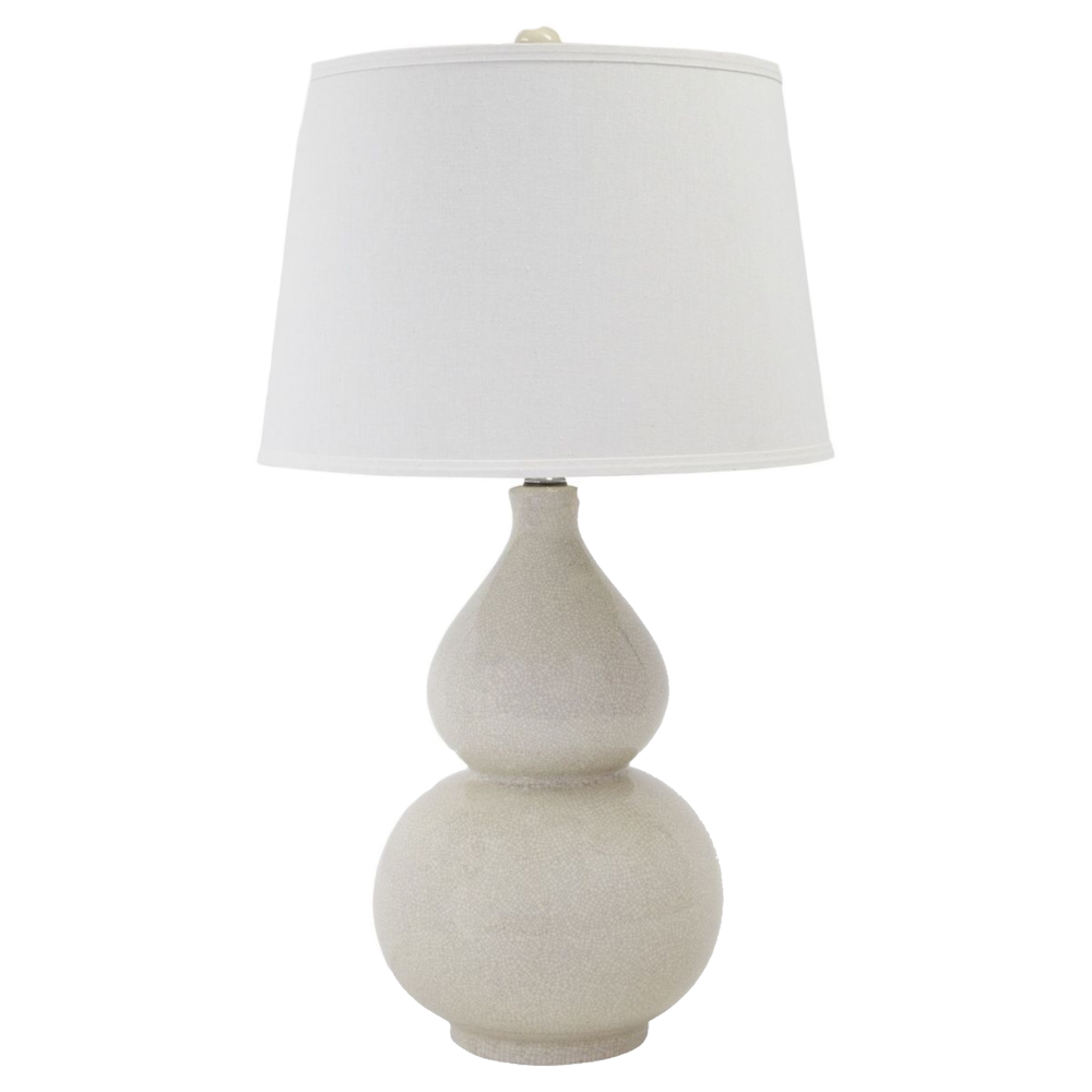 Crackle Ceramic, Cream Saffi Table Lamp from Target $82.49
