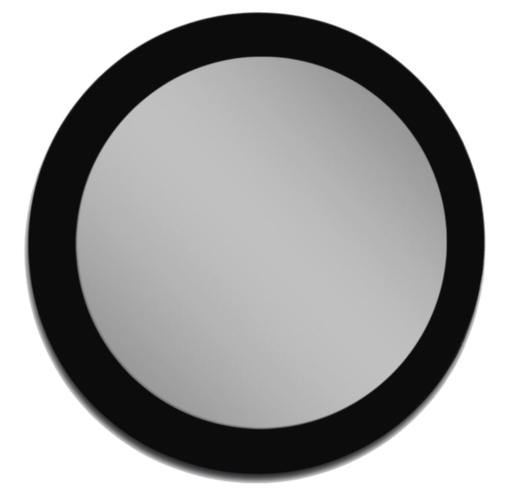 MirrorsHome Color Black Glass mirror from Houzz, $129.45. USE CODE DCC6D for 5% off!