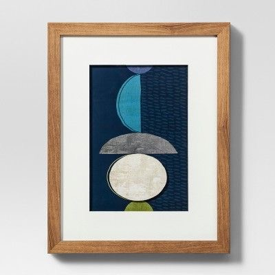 $14.24 Abstract Blue Project 62 Print, 11x14 inches from Target