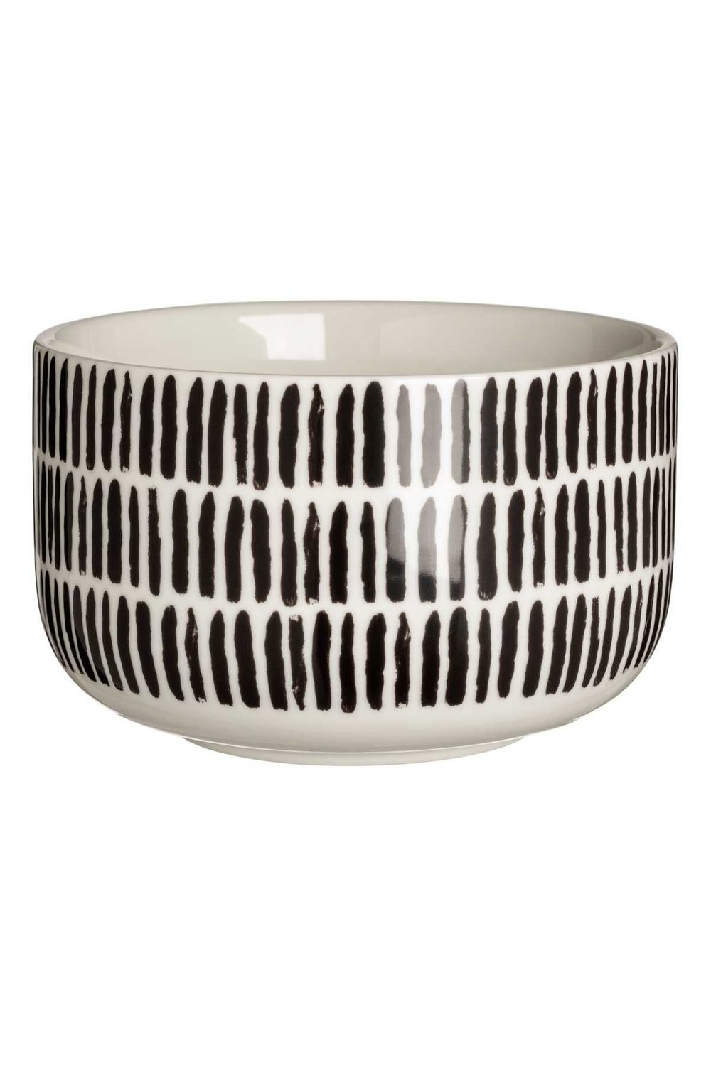 Black and White Bowl, H&M $5.99