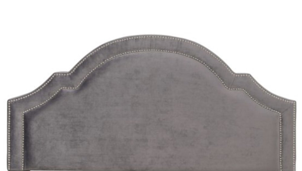 Another great option!! $165.67 Gray Velvet Abbyson Headboard from Hayneedle