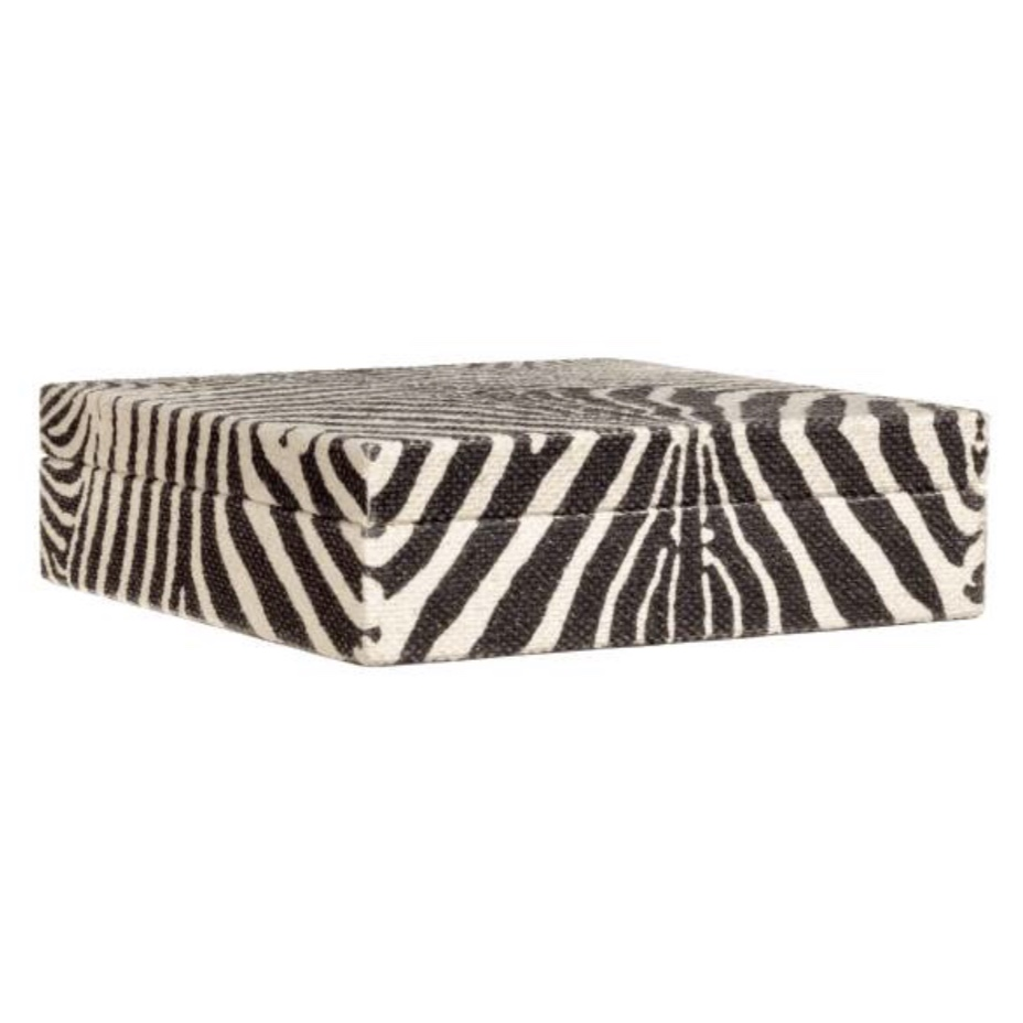 Zebra Print storage box $7.99 from H&M