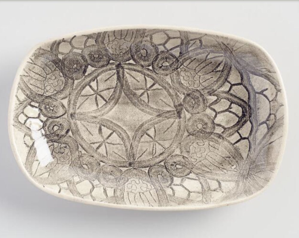 Cake Lace Snack Plate, $21.00 from World Market