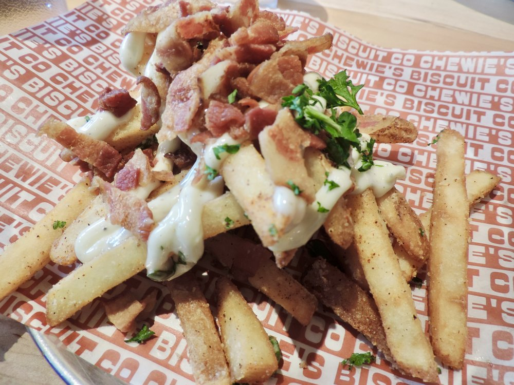 Dirty fries… their version of poutine