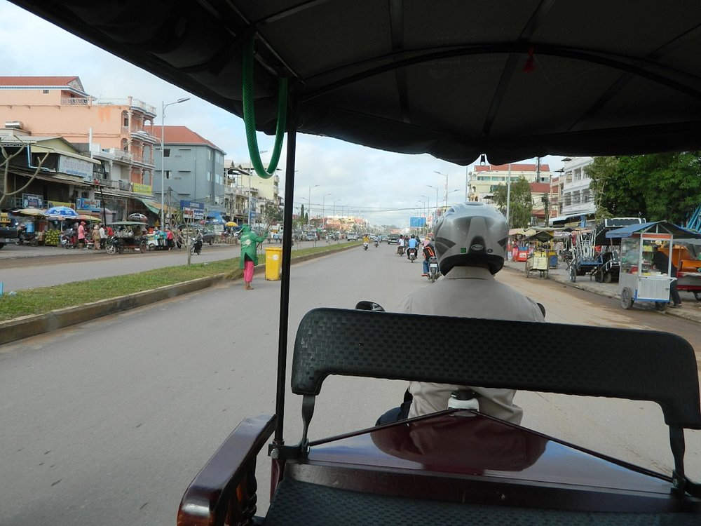 The beautiful streets of Siem Reap, Cambodia...a true culture shock for me!