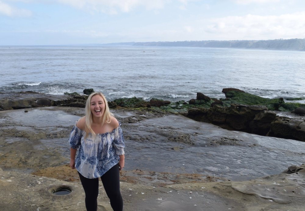 Can you tell I loved La Jolla from this picture? Yeah?  Because I did!