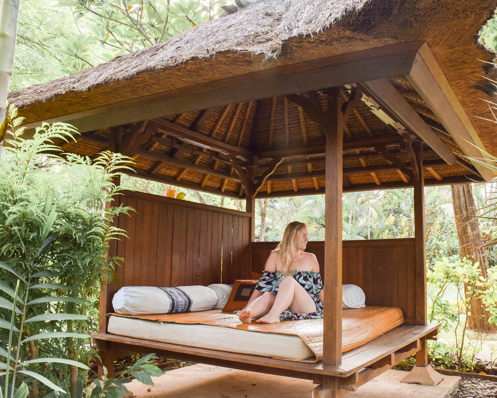 Sending major Bali vibes your way at Mimpi Resort and Spa.