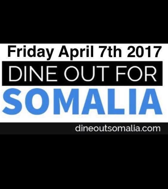 4/7 - Dine Out Somalia, Minneapolis