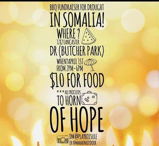 4/1 - Somali Youth BBQ, San Jose