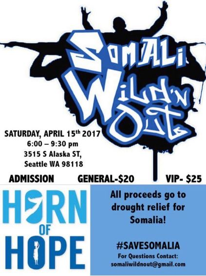 4/15 - Somali Wild'n Out, Seattle, Washington
