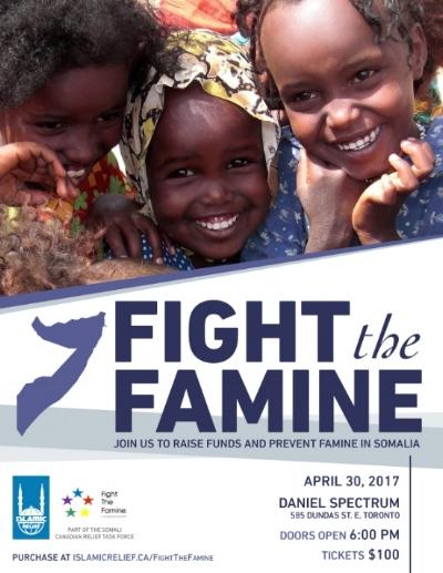 4/30 - FIght The Famine, Toronto, Ontario