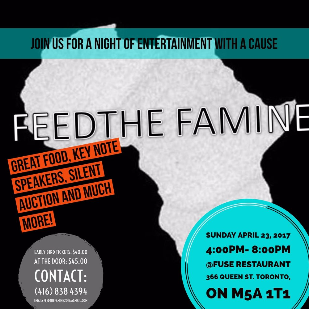 4/23 - Feed The Famine, Toronto, Ontario