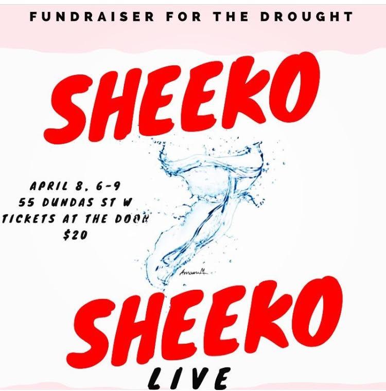4/8 - Sheeko Sheeko LIVE, Toronto, Ontario