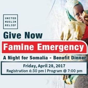 4/28 - A Night For Somalia Benefit Dinner, Alexandria, Virginia
