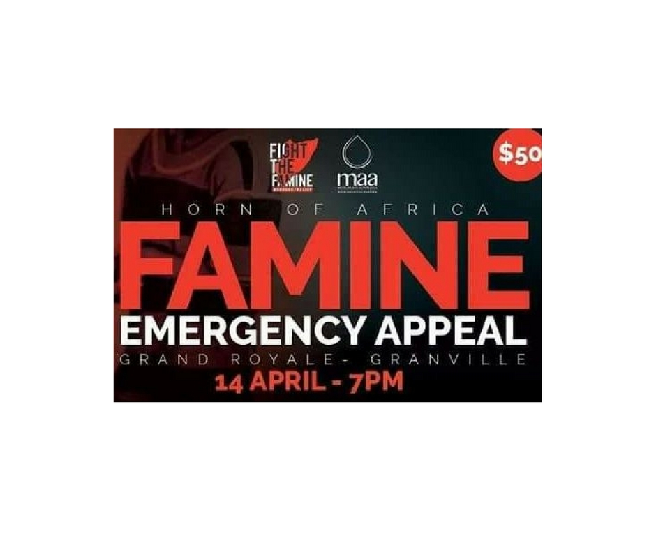 4/14 - Famine Emergency Appeal, Sydney, Australia