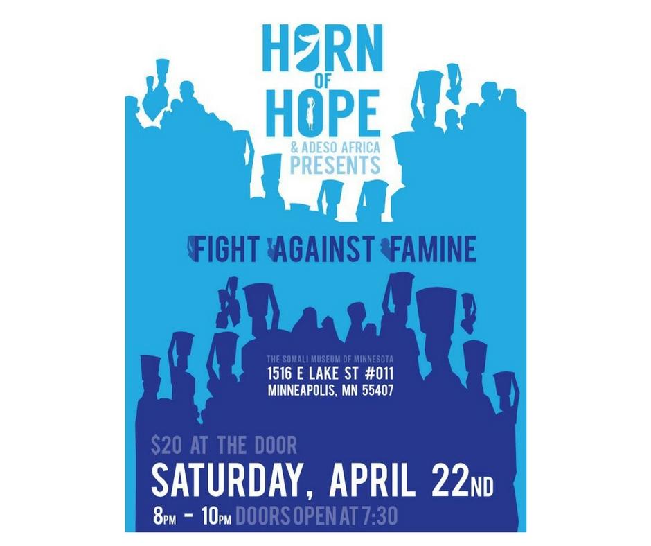 4/22 - Fight Against Famine, Minneapolis, Minnesota