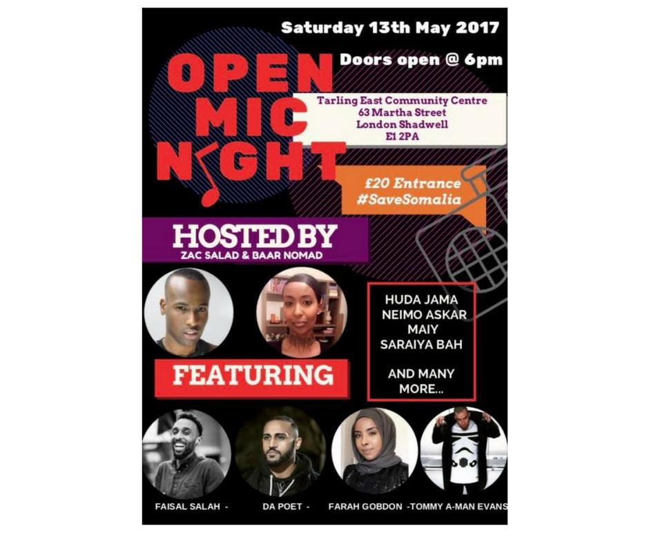 5/13 - Open Mic Night, London, UK