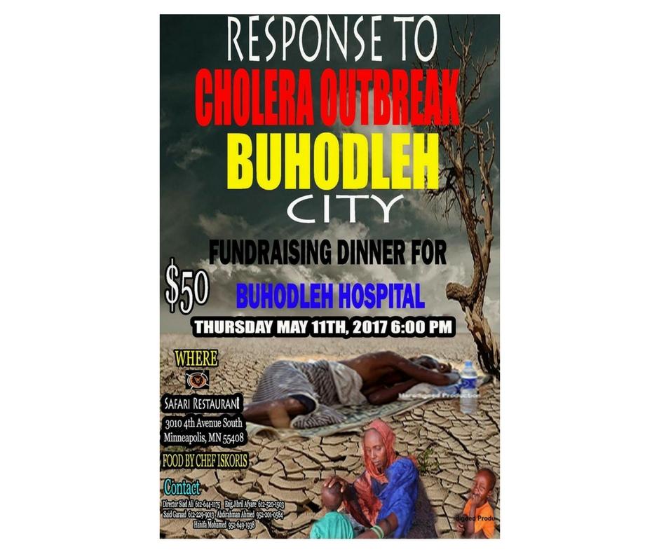 5/11 - Response To Buhodleh Cholrea Outbreak