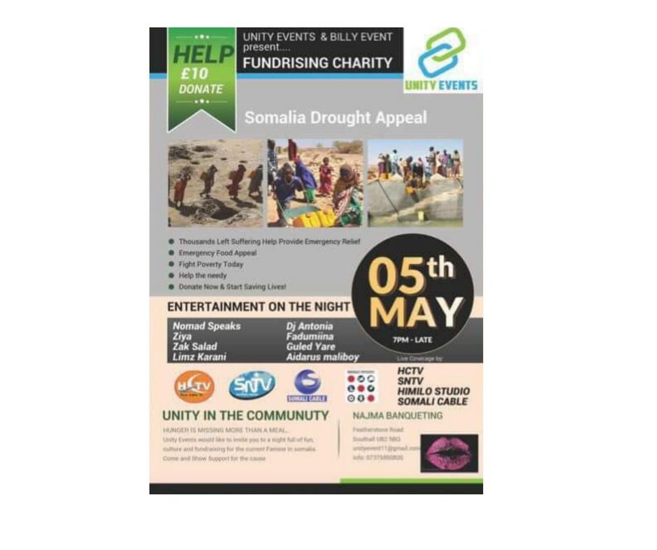 5/5 - Somalia Drought Appeal, London, UK