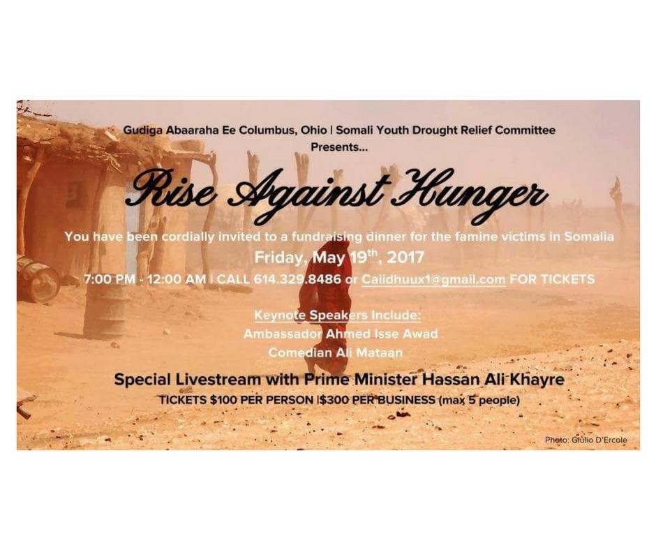 5/19 - Rise Against Hunger, Columbus, Ohio