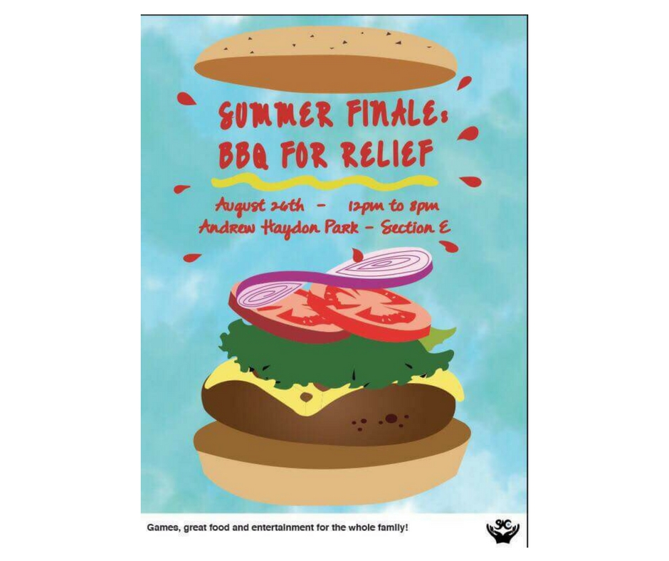 8/24 - Summer Finale, BBQ For Relief