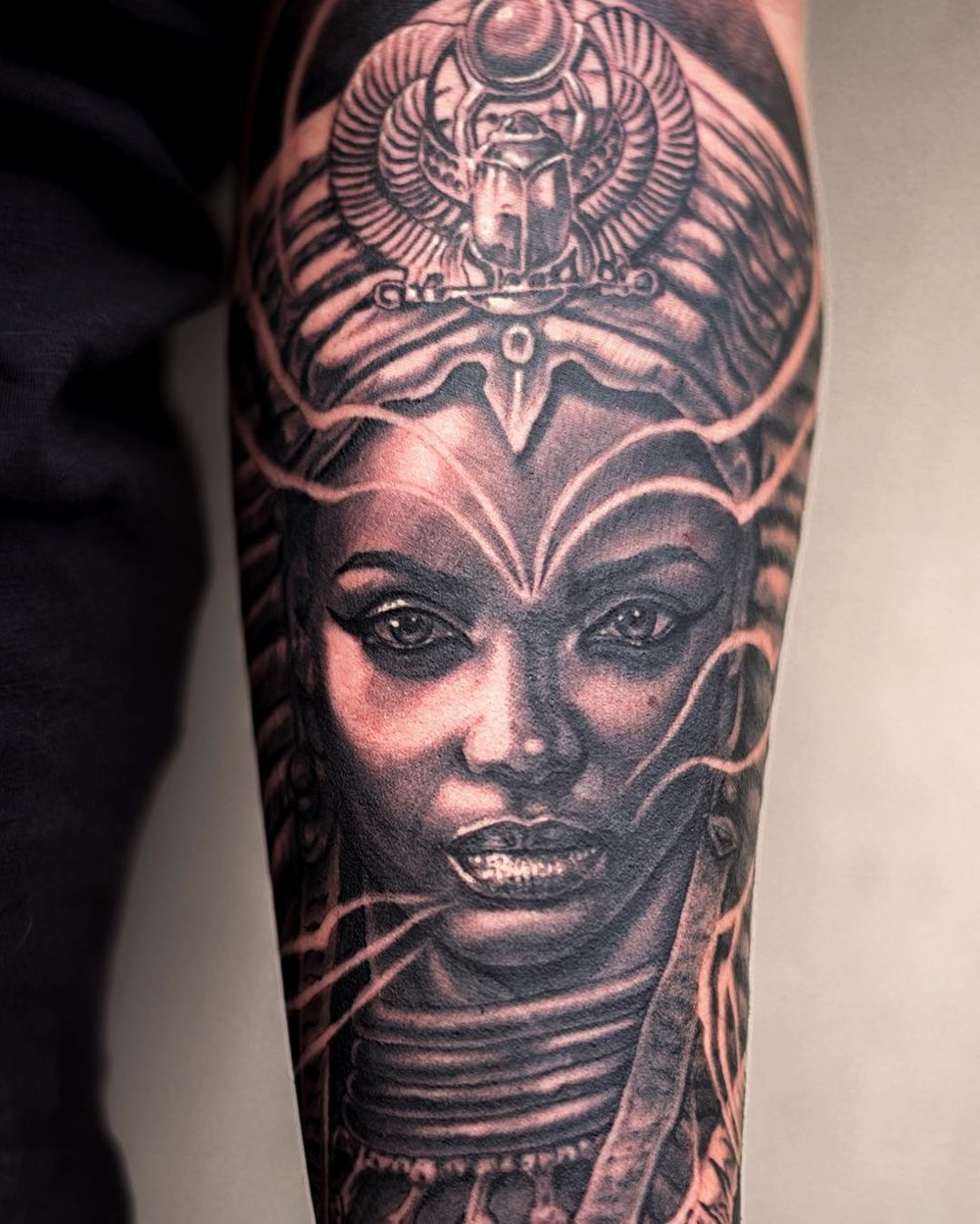 African queen tattoo images for tatouage for Black african queen tattoos