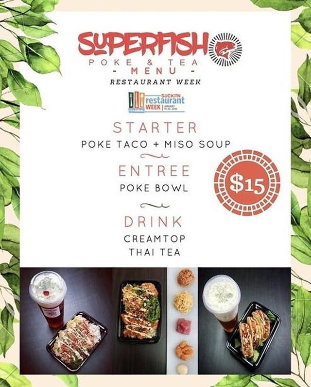 GET CONNECTED WITH @superfishpoke ON FSSVISUALS.COM - 209 Business #fssvisuals
