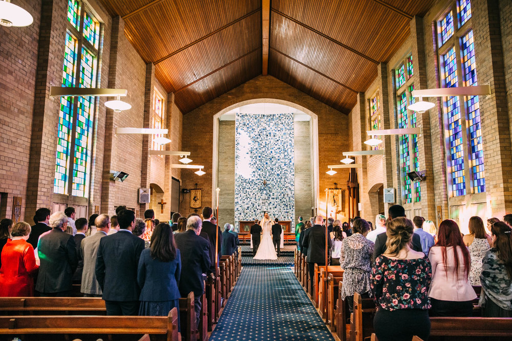Wedding Full Cathedral
