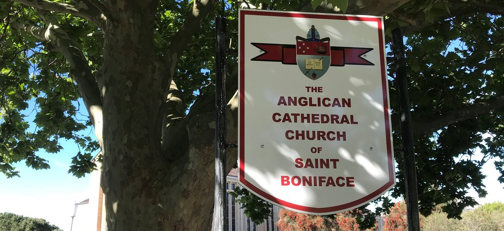 Cathedral sign