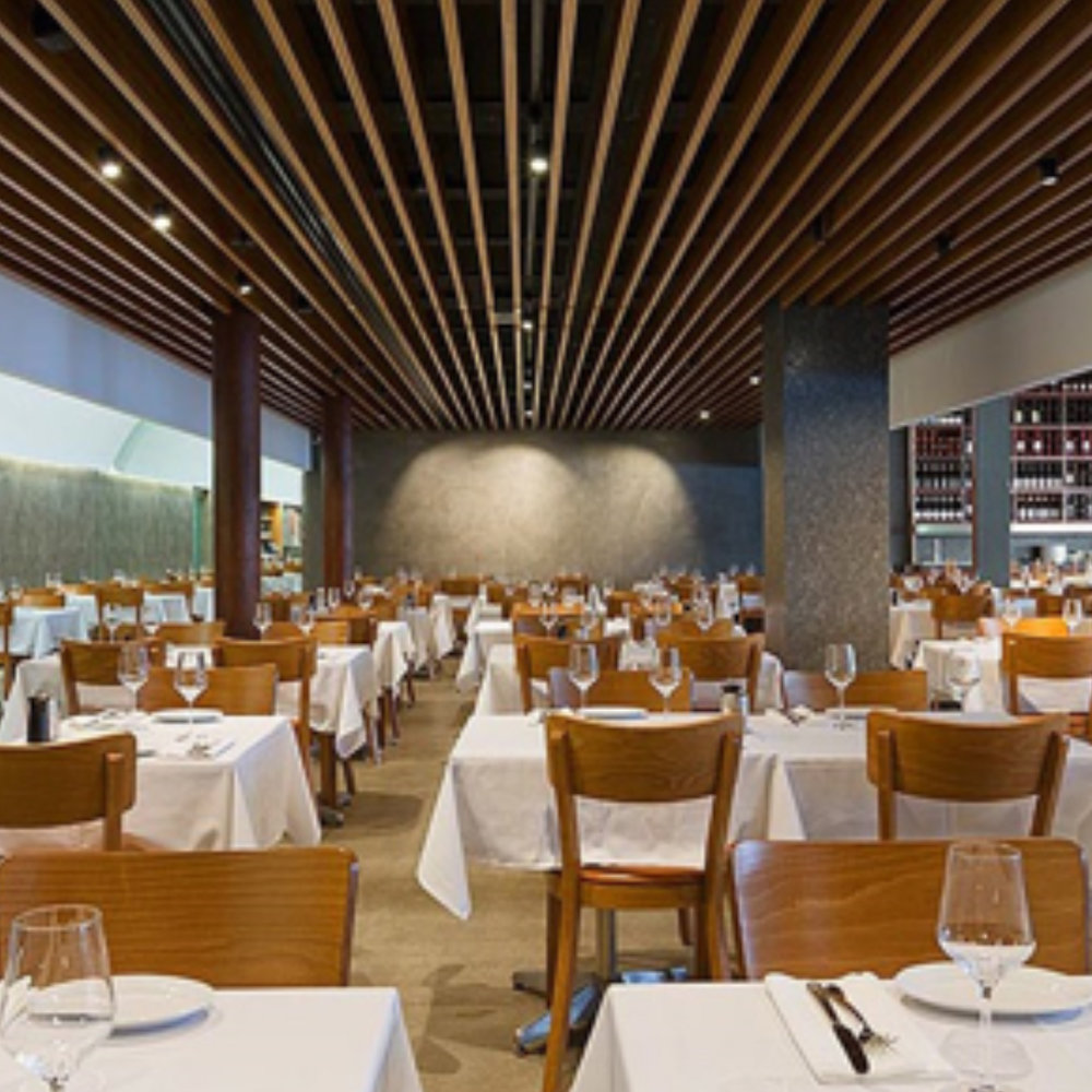 Nick's Seafood    – Cockle Bay Wharf, NSW    Client:  Nicks Restaurant & Bar Group  Architect:  Dino Raccanello Design  Duration:  3 weeks
