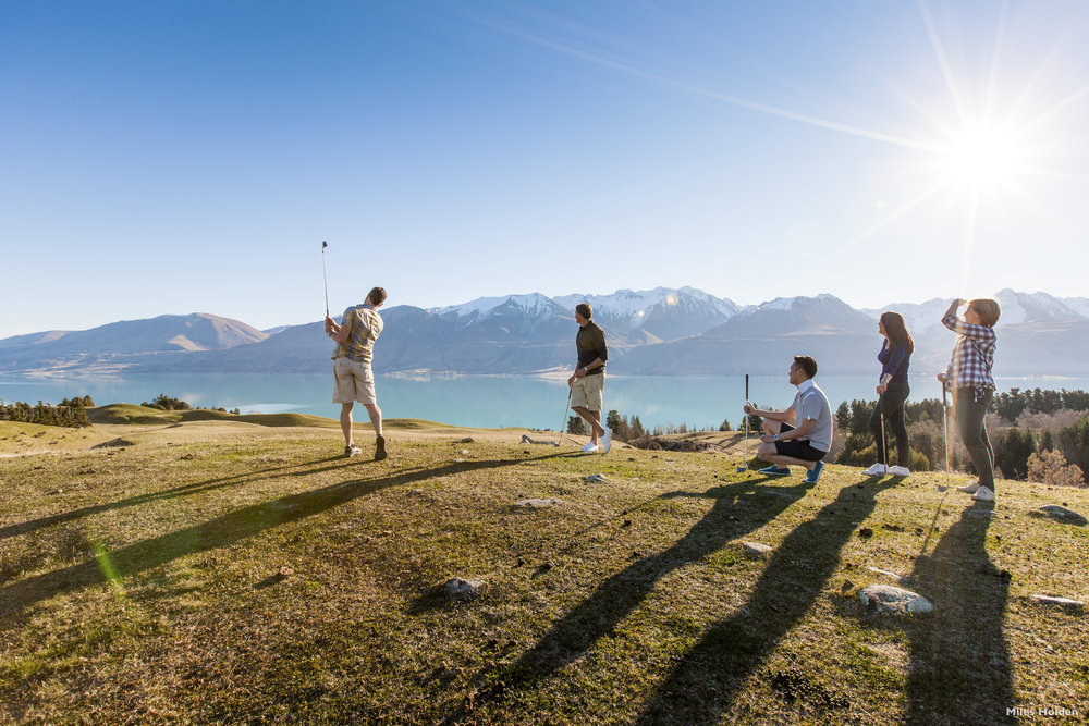 The Mainland Alpine Golf Tour