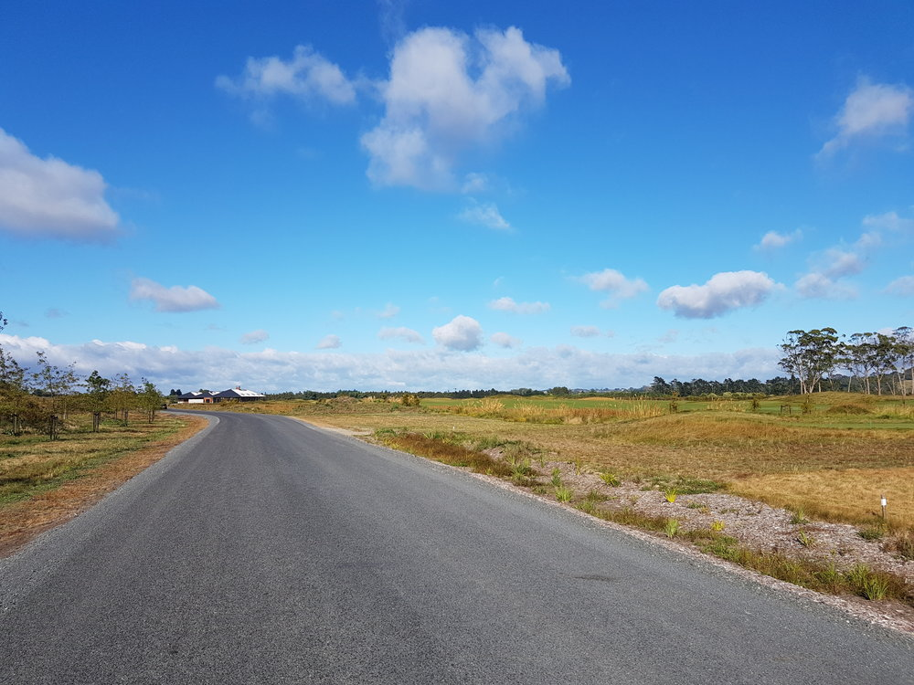 The road to a new golfing experience!