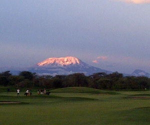 How about daring yourself to a golfing safari under the snows of Mt Kilimanjaro?