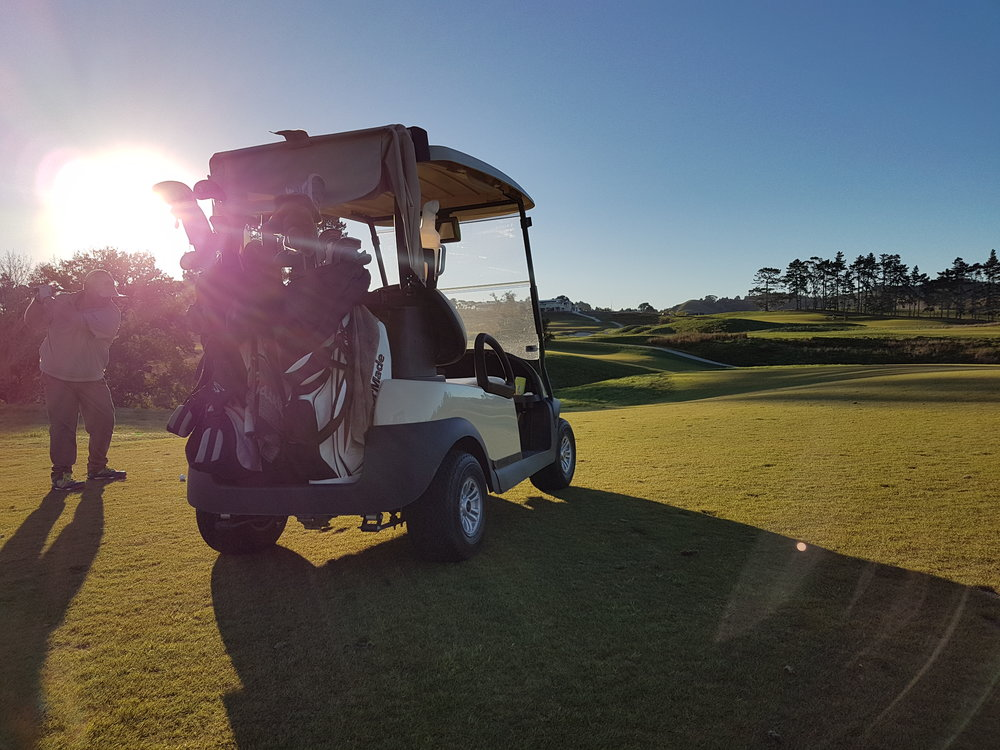 Where will the golf cart take you this weekend?