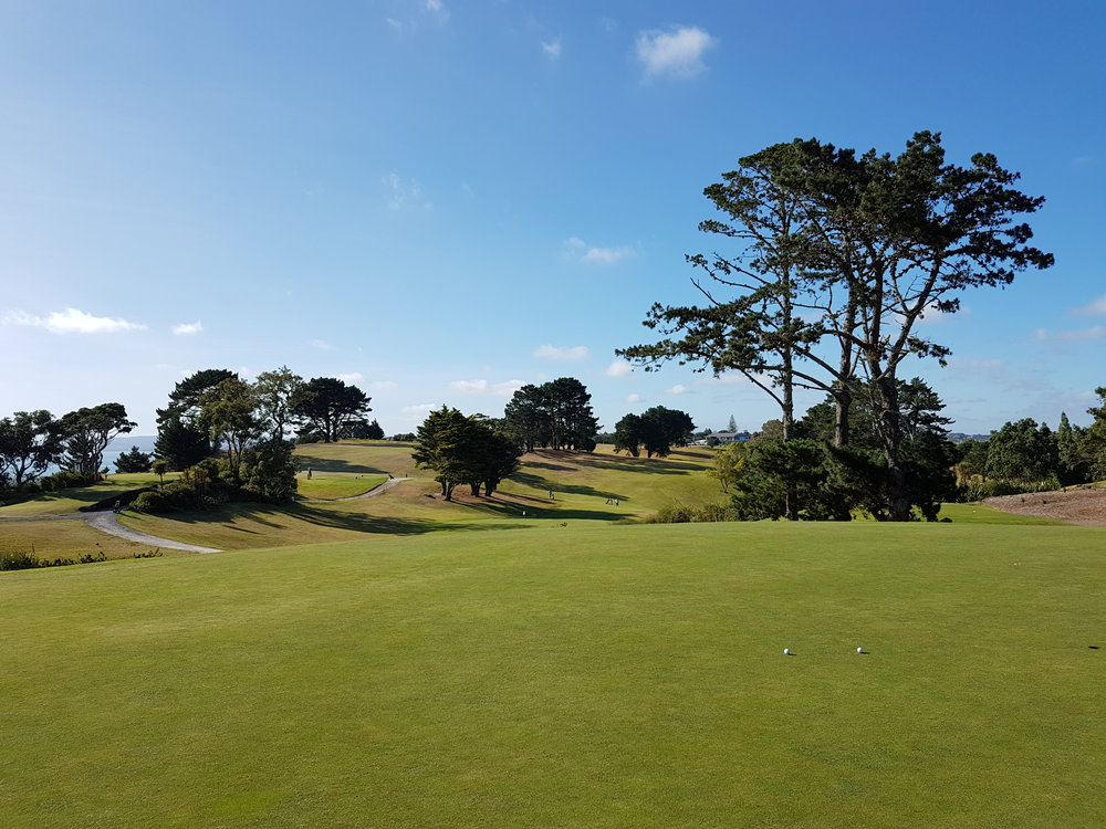 Beautiful New Zealand golf course